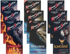 Kamasutra Intensity, Wet n Wild, Longlast - UPFK200363 Condom