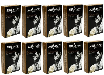 Manforce Butter Scotch Extra Dotted 100 pc Condom