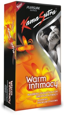 Kamasutra Warm Intimacy Warming Lubricated Plasure Series Condom