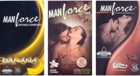 Manforce Banana, Jamin, Coffee Condom