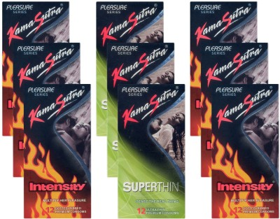 Kamasutra Intensity, Superthin - UPFK200368 Condom