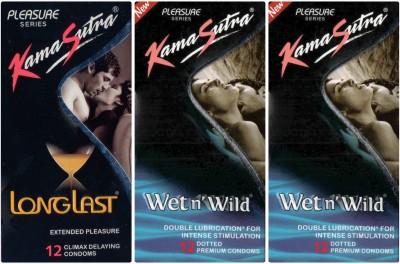 Kamasutra Wet n Wild, Longlast, Wet n Wild Condom