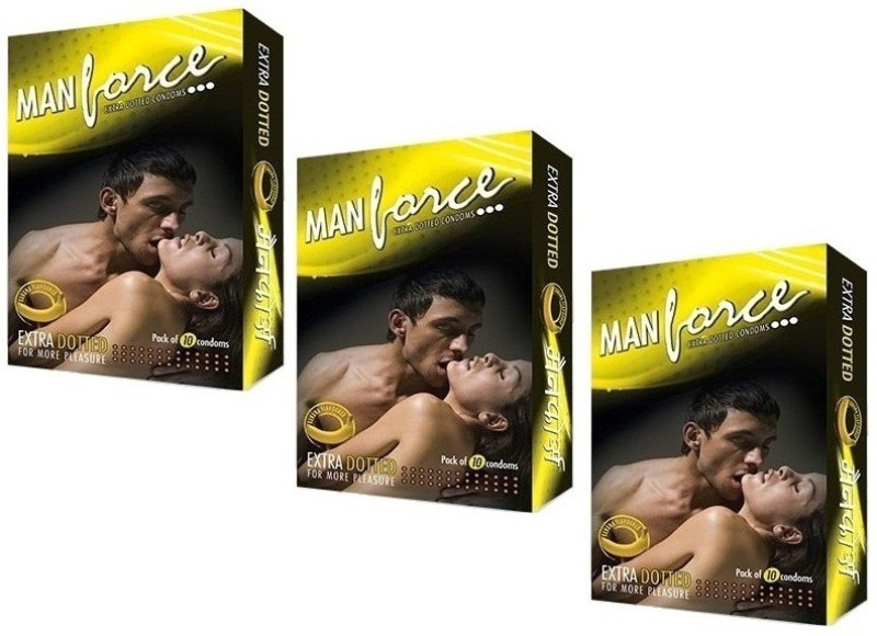 Manforce Banana Condom(Set of 3, 30S)