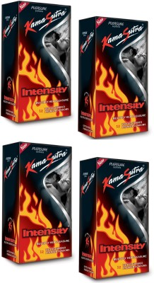 Kamasutra Intensity Dual Textures Dotted & Ribbed Plasure Series Condom