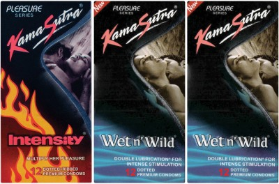 Kamasutra Wet n Wild, Intensity, Wet n Wild Condom