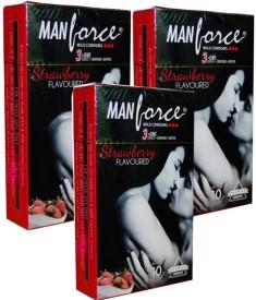 Manforce Strawberry Condom