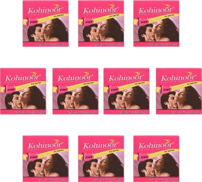 Kohinoor Combo Pack Condom(Set of 10, 30S)