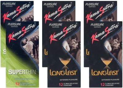 Kamasutra Superthin, Longlast - UPFK200094 Condom