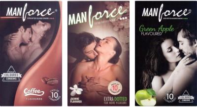 Manforce Coffee, Jamin, Green Apple Condom