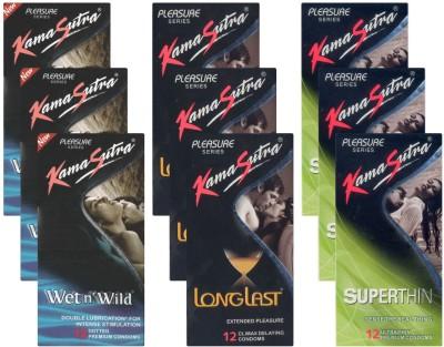 Kamasutra Wet n Wild, Longlast, Superthin - UPFK200307 Condom