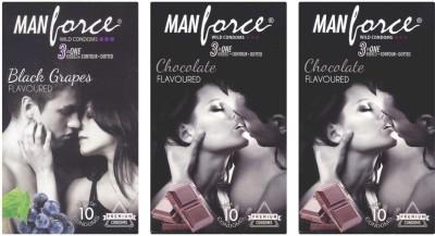 Manforce BlackGrape, Chocolate, Chocolate Condom