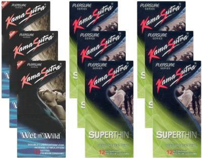 Kamasutra Wet n Wild, Superthin - UPFK200295 Condom