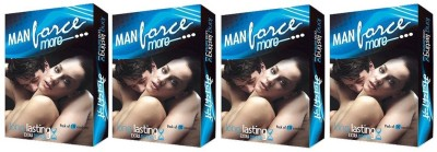 Manforce Extra Dotted More Long Lasting Condom(Set of 4, 40S)