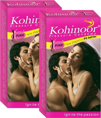 Kohinoor Pink Condom(Set of 2, 10S)