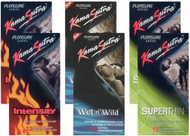 Kamasutra Intensity, Wet n Wild, Superthin - UPFK200110 Condom