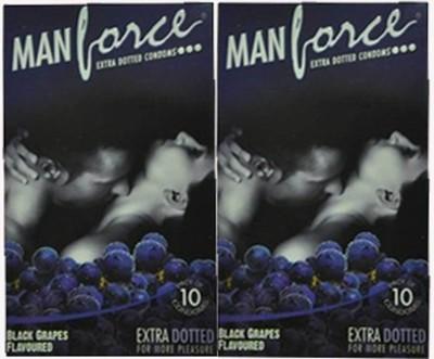 Manforce Black Grapes Condom