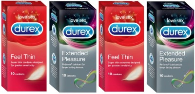 Durex Feel Thin, Extended Pleasure Condom