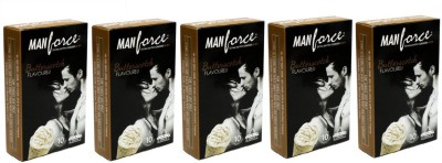 Manforce Butter Scotch Extra Dotted 50pc Condom