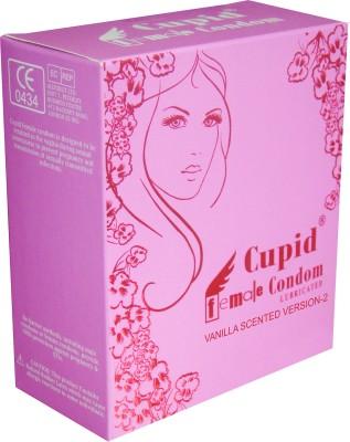 Cupid Female Condom(Set of 2, 4S)