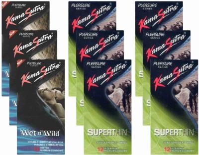 Kamasutra Wet n Wild, Superthin - UPFK200253 Condom