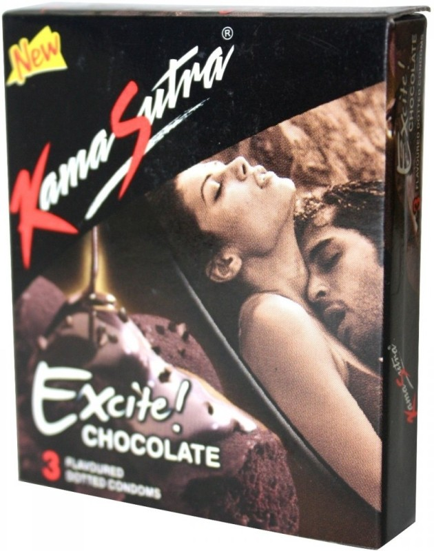 KamaSutra Chocolate Condom(Set of 50, 150S)