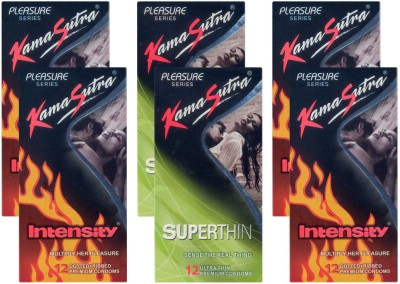 Kamasutra Intensity, Superthin - UPFK200117 Condom