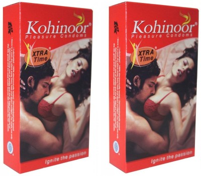 Kohinoor Extra Time Pleasure Condom(Set of 2, 20S)