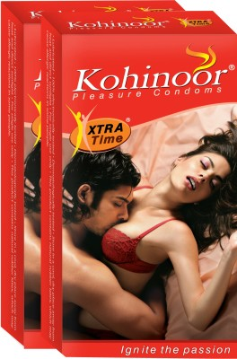 Kohinoor Xtra Time Condom(Set of 2, 10S)
