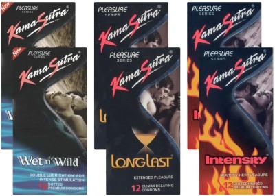 Kamasutra Wet n Wild, Longlast, Intensity - UPFK200057 Condom