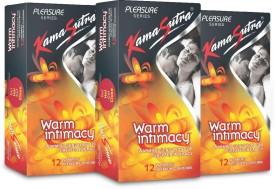 Kamasutra Warm Intimacy Monthly Combo Condom