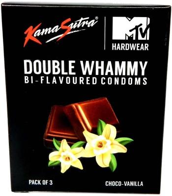Kamasutra MTV Hardwear Bi-Flavoured (Choco-Vanilla) Condom