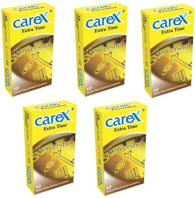Carex Powershot x 5 Condom