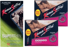 Kamasutra Dotted, Superthin, Dotted Condom