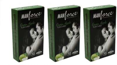 Manforce Green Apple Condom