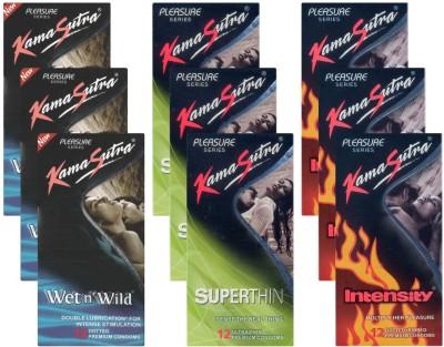 Kamasutra Wet n Wild, Superthin, Intensity - UPFK200296 Condom