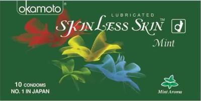 Okamoto Skinless Skin Mint Condom