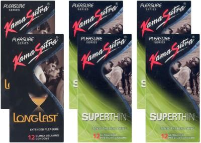 Kamasutra Longlast, Superthin - UPFK200152 Condom
