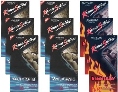 Kamasutra Wet n Wild, Intensity - UPFK200290 Condom