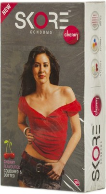 Skore Cherry Condom(Set of 1, 10S)