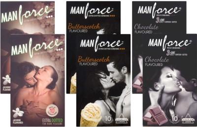 Manforce Jasmine, Butterscotch, Chocolate - CPFK1958 Condom