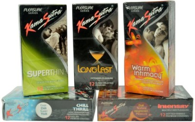 Kamasutra Pleasure Series Condom
