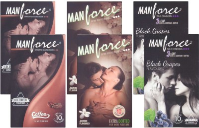 Manforce Coffee, Jamin, BlackGrape - CPFK1876 Condom