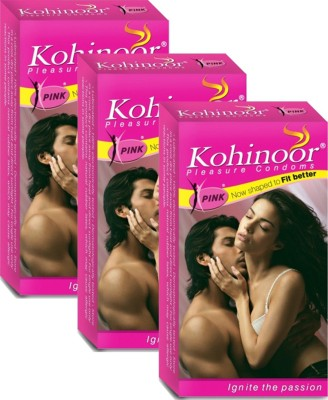 Kohinoor 1411110322 Condom(Set of 3, 30S)