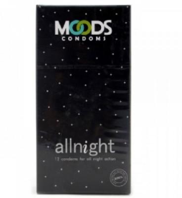 Moods Condoms Allnight-12(Pack Of-3) Condom
