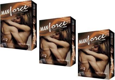Manforce Extra Dotted Chocolate Flavoured Condom