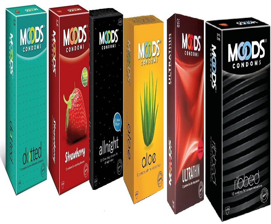 Moods ( Combo of 24X12s )Extra Adventure Pack Condom(Set of 24, 288S)
