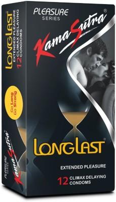 KamaSutra Longlast Condom(Set of 1, 12S)