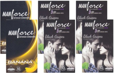 Manforce Banana, BlackGrape - CPFK1555 Condom
