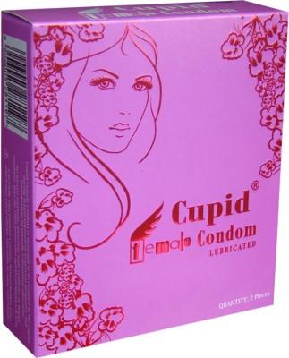 CUPID FEMALE VANILLA SCENTED VERSION 2 Condom(Set of 2, 4S)