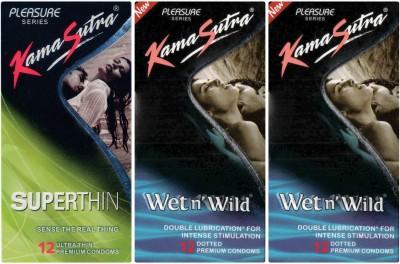 Kamasutra Wet n Wild, Superthin, Wet n Wild Condom